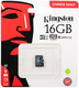 Карта памяти microSDHC Kingston 16 GB (class 10, UHS-I, 80 МБ/с, без адаптера)